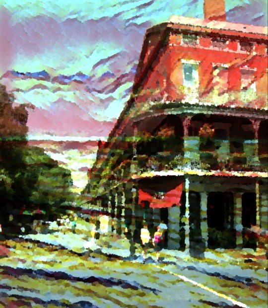 French Quarter Scene